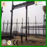Almacén de acero prefabricado de la ISO 9001 de la buena calidad