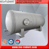Цистерна с водой хранения давления нержавеющей стали (горизонтальная)