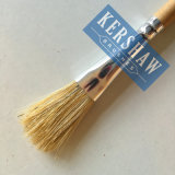 Kunstenaar Brush (ARTIST PAINTING BRUSH FLAT HEAD, wit varkenshaar en houten handvat)