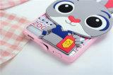 Caja animal principal grande del teléfono celular del conejo para Huawei P9