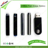 Батарея пер Vape Cig высокого качества 510 e Ocitytimes перезаряжаемые
