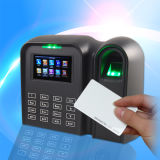 Leitor de cartão e dispositivo ESCONDIDOS do comparecimento do tempo da impressão digital (Qclear-TC)