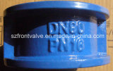 Ferro de molde/válvula de verificação Ductile da bolacha da placa do duo do ferro
