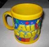Alta qualità Plastic Cup Promotional 3D Gift pp Mug (057)