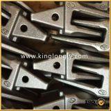 Geschmiedete Exkavator-Wannen-Zahn-Adapter-Ersatzteile für Aufbau-Maschinerie