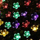 Luces de hadas de la secuencia de la flor solar impermeable