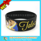 1 Zoll breit Silikonband, Tinte gefüllt Armband (TH-band031)