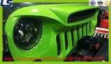 Het nieuwe Model 3D Zwarte Traliewerk van het Netwerk Geschikt voor Jeep Wrangler Jk