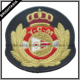 Kundenspezifisches Embroidery Badge, School Badge, Patches für Garment (BYH-10871)
