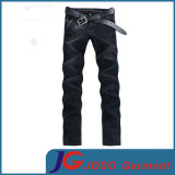 Schwarzes Fitted Skinny Jeans mit Slant Pocket (JC3401)