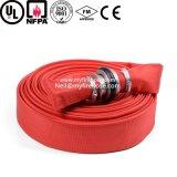Pipe flexible d'unité centrale de boyau d'arroseuse d'incendie de toile de 1 pouce