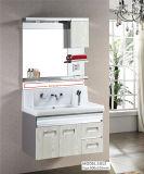 El diseño de lujo del lavabo doble modificado para requisitos particulares hizo la cabina de cuarto de baño del acero inoxidable
