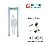 Alto Rendimiento de Acceso Control de detección 18 Zonas Arco detector de metales