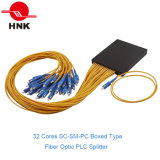1*64 또는 2*64 Boxed Type Fiber Optic PLC Splitter