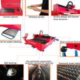 Machines de laser de fibre de technologie de découpage de laser pour le découpage en métal