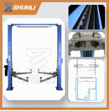 One Side Manual Release mecânico 4 Column Car Lift