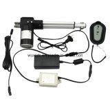 Dispositif d'entraînement linéaire intégré télescopique d'Electricc