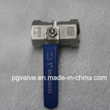중국 제조 3PC 강철 DIN 259/2999 스레드 공 벨브