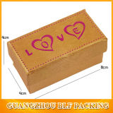 Kleines Love Heart Printing Paper Gift Packing Box mit Lid (BLF-010)