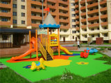 Both Indoor와 Outdoor, Pleastic Slide를 위한 아이들 Playground