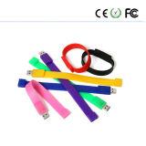 USB su ordinazione Pen Drive di Logo 2GB 4GB 8GB Silicone Wristband