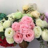 現代安い結婚式の人工花ローズ