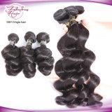 Cabelo humano malaio do cabelo 100% do Virgin da qualidade superior