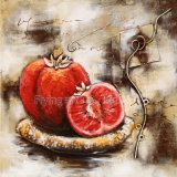 Modern 3 D Metal Paintings for Fruits