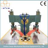De plastic Machine van het Lassen van de Hoge Frequentie van de Stof van het Leer van pvc (voor zakken/regenjas die maken)