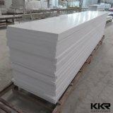 strato di superficie solido bianco di 12mm per il comitato di parete