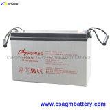12V bateria do gel do volt 100ah para o sistema solar do barco