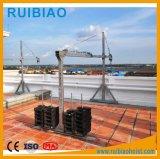 Plate-forme suspendue en aluminium de câble métallique