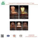 O restaurante de madeira preside a cadeira moderna de Recepition das cadeiras do hotel