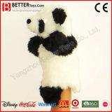 Marioneta de mano del juguete de la panda del animal relleno de la felpa del regalo para los cabritos