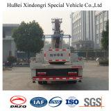 18m Dongfengの空気作業プラットホームのスペシャル・イベントのトラック
