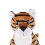 Заполненная высоким качеством игрушка плюша тигра дикого животного с En71