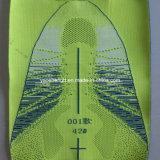 Верхушкы ботинок спорта Flyknit, тканевый материал ботинок