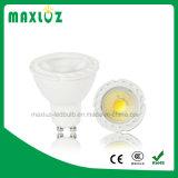 GU10 luz Decoation al aire libre del punto de la MAZORCA LED de 5 vatios