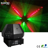 9 Laser van de Paddestoel van ogen RGB Mini