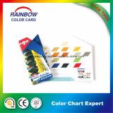 Varias formas de impresión de libros para Emulison Color Chart Card