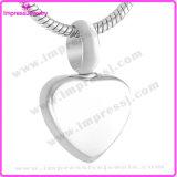 L'acciaio inossidabile lucida pochi monili di cremazione di fascini del cuore per il braccialetto