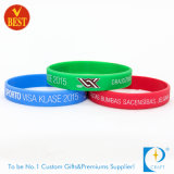 Bracelet promotionnel en caoutchouc de sports de qualité
