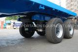 4axles Flatbed Volledige Aanhangwagen van de Lading