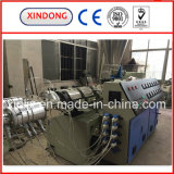Linha de produção máquina gêmea da tubulação dobro do PVC da extrusão da tubulação do PVC