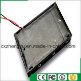 support de la batterie 6AA avec fils de fil rouges/noirs