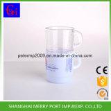 Tasse en plastique de bureau de tasse de cuvette de lait de café avec des couleurs