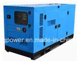 Quanchaiエンジンを搭載する11kVA -42kVAの防音の無声発電機の開いた発電機