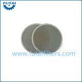 Disco de filtrado de hilados de acero inoxidable para hilados POY