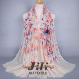 Sciarpa popolare viscosa di Hijab della stampa floreale della stampa di 100%