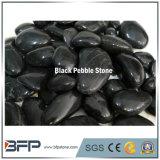 Pietra nera del ciottolo di alta qualità per la pavimentazione